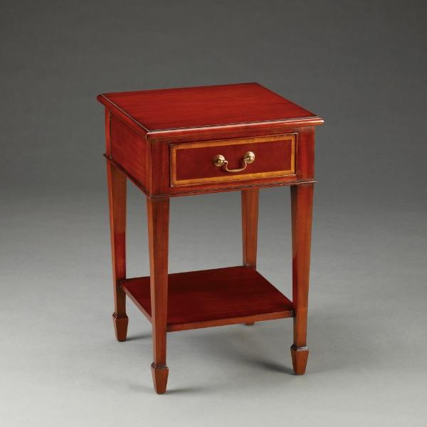 kleiner tisch side table one drawer. Black Bedroom Furniture Sets. Home Design Ideas