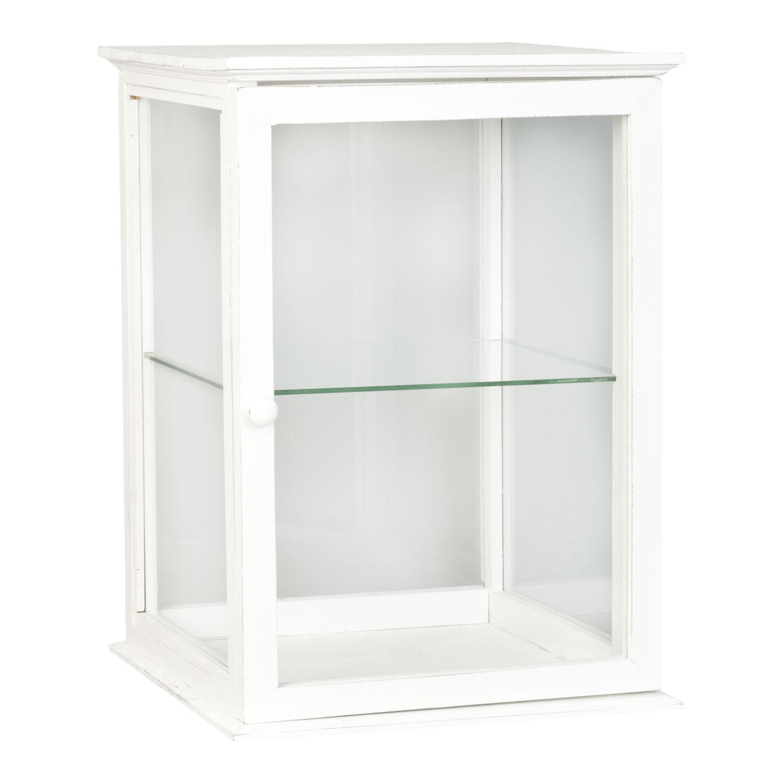 Clayre & Eef 5H0076- Holzschrank weiß ca. 40 x 40 x 55 cm