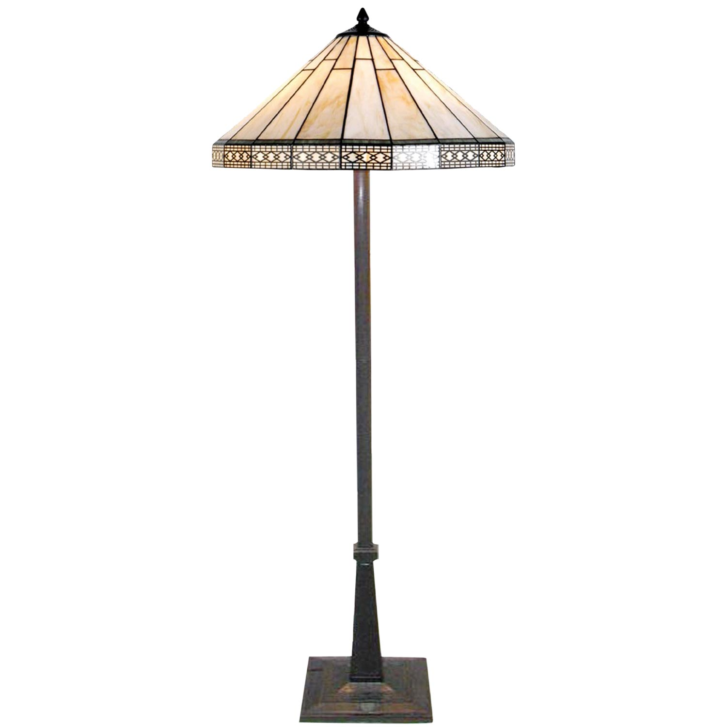 Clayre Eef 5ll 5564 Grosse Tiffany Stehlampe