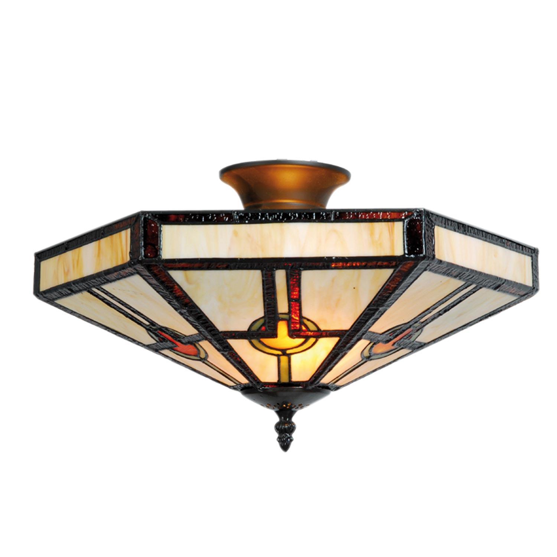 Clayre eef 5ll 5577 tiffany deckenlampe 23x40cm modern for Deckenlampe modern