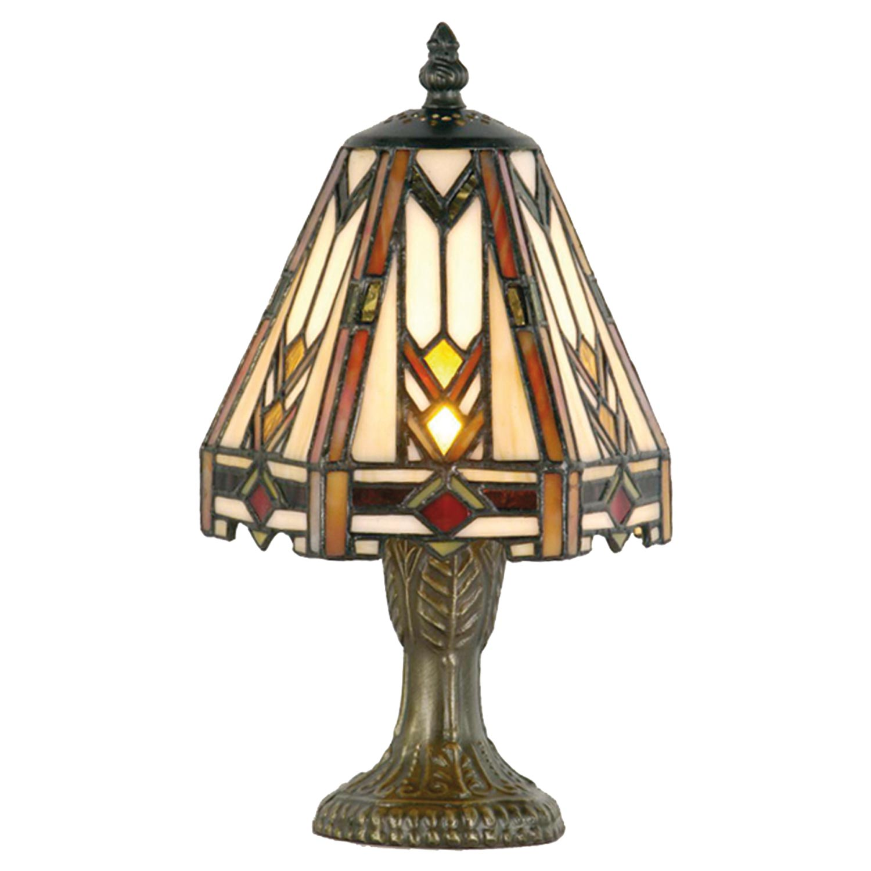 clayre eef 5ll 9216 tischlampe im tiffany stil 15x24cm. Black Bedroom Furniture Sets. Home Design Ideas