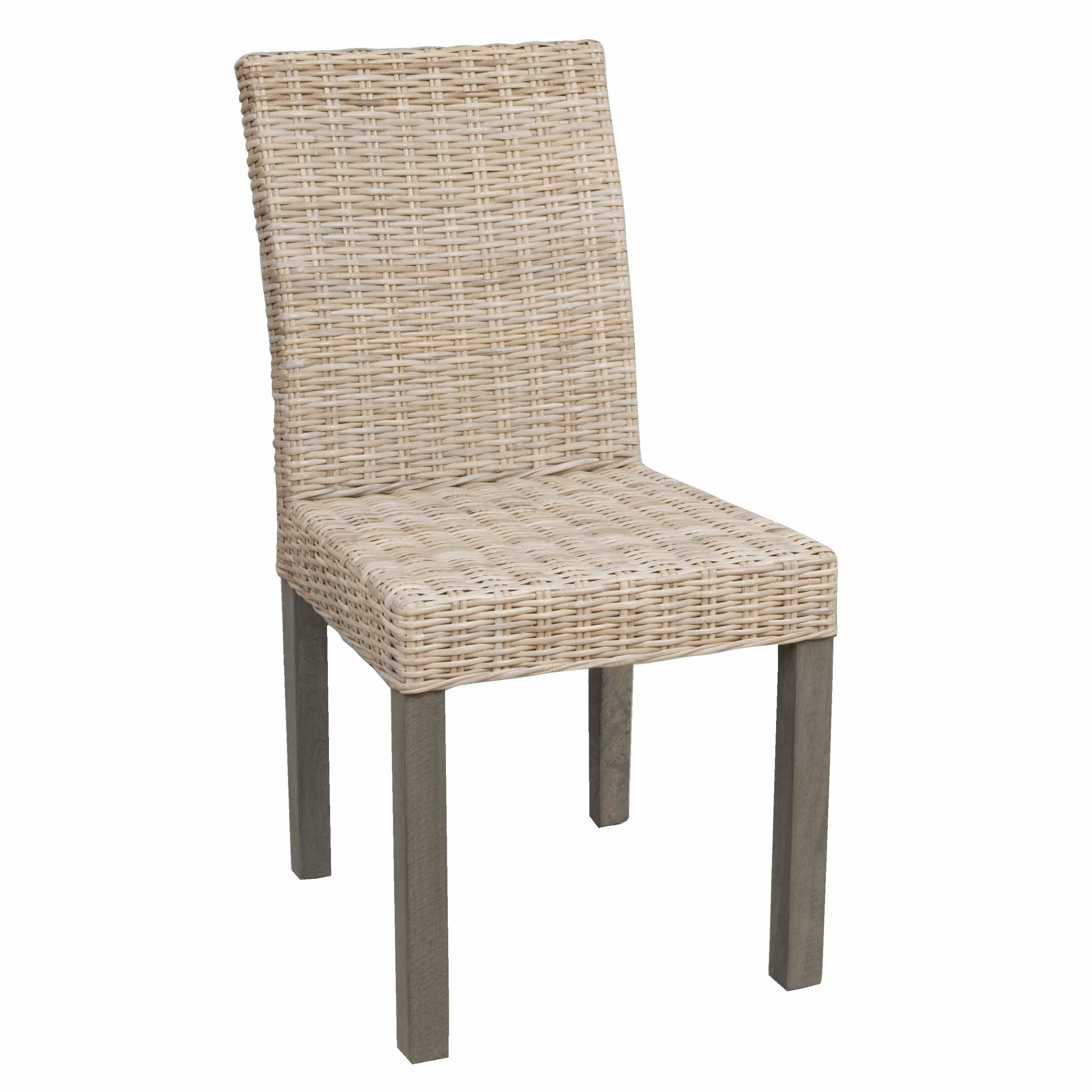 clayre eef 5ro0027g breiter rattanstuhl ohne armlehne in hellbraun. Black Bedroom Furniture Sets. Home Design Ideas