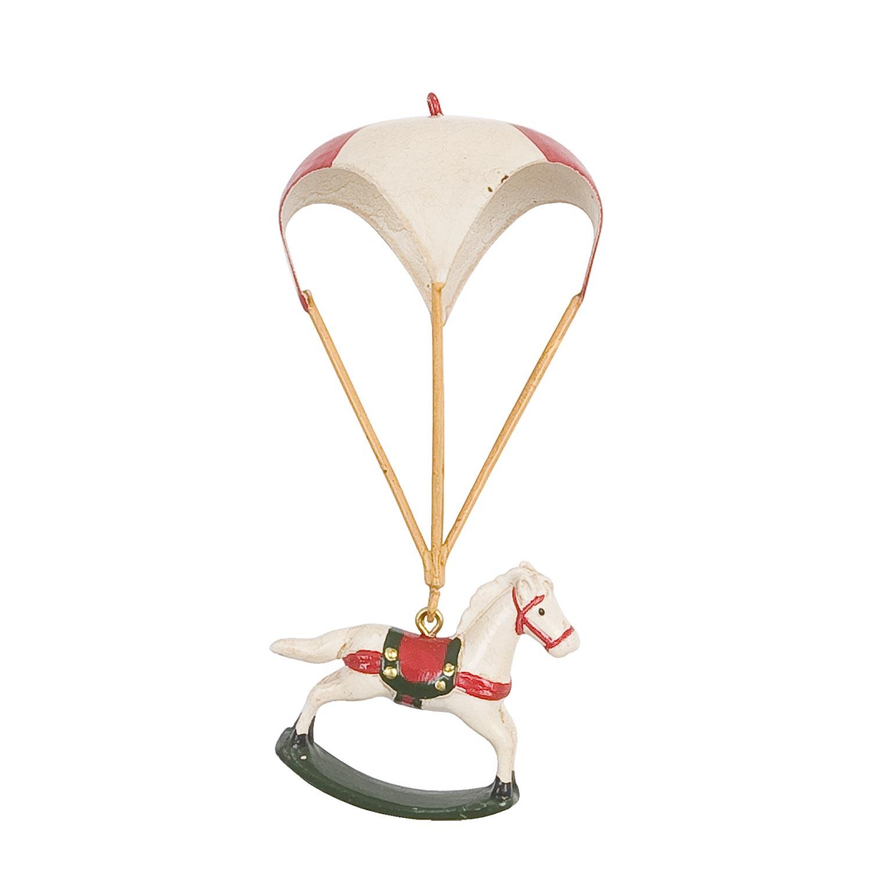 Clayre eef 6pr0166 deko schaukelpferd weiss mit ballon for Deko kataloge bestellen