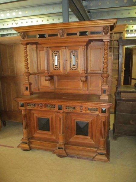 buffetschrank k chenschrank anrichte antik. Black Bedroom Furniture Sets. Home Design Ideas