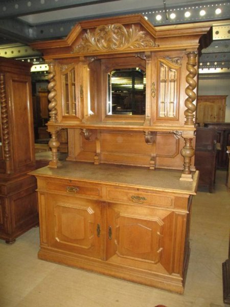buffetschrank antik aus eiche. Black Bedroom Furniture Sets. Home Design Ideas