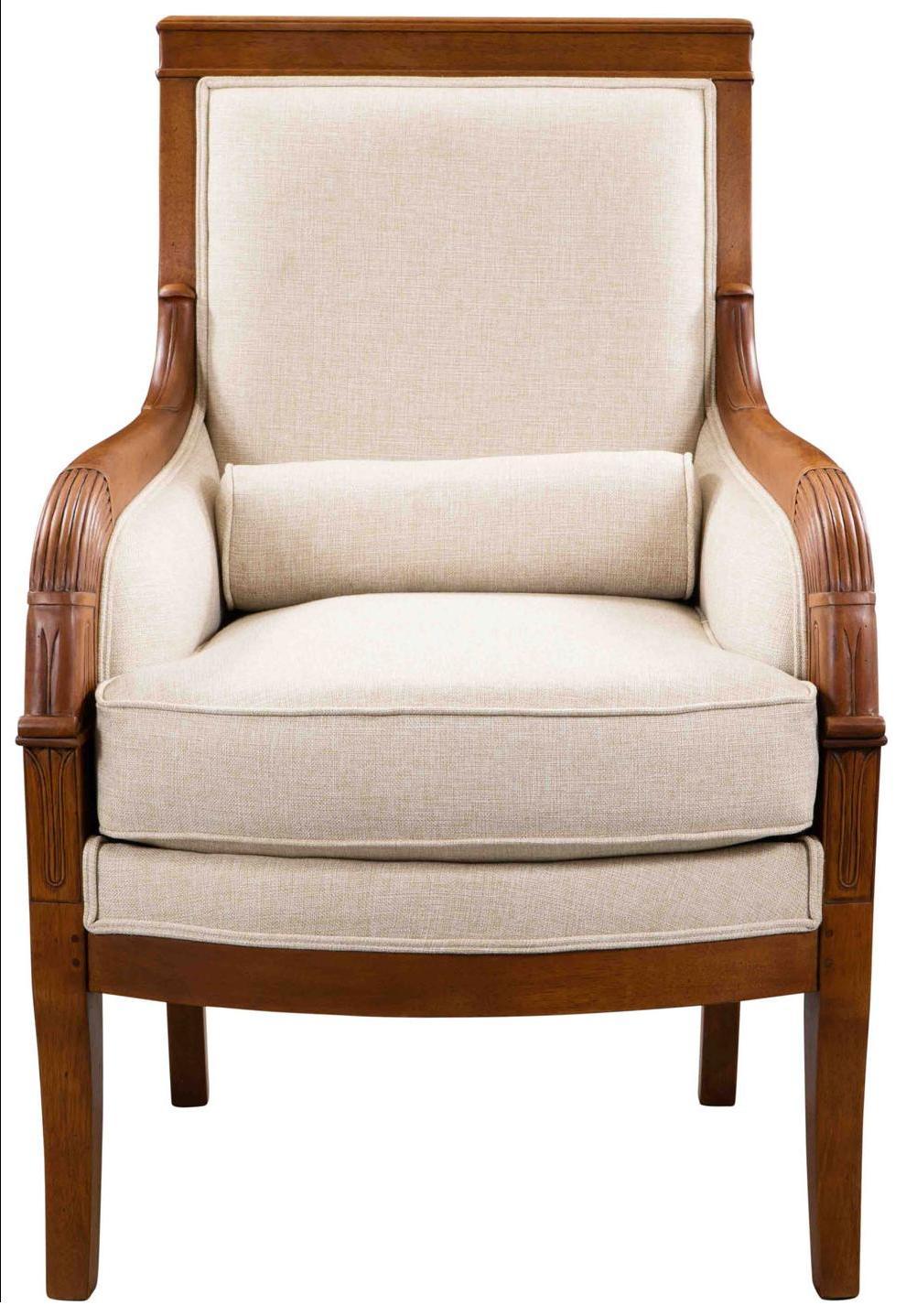 Stoffsessel Retro Vintage Klassisch Französisch Sessel