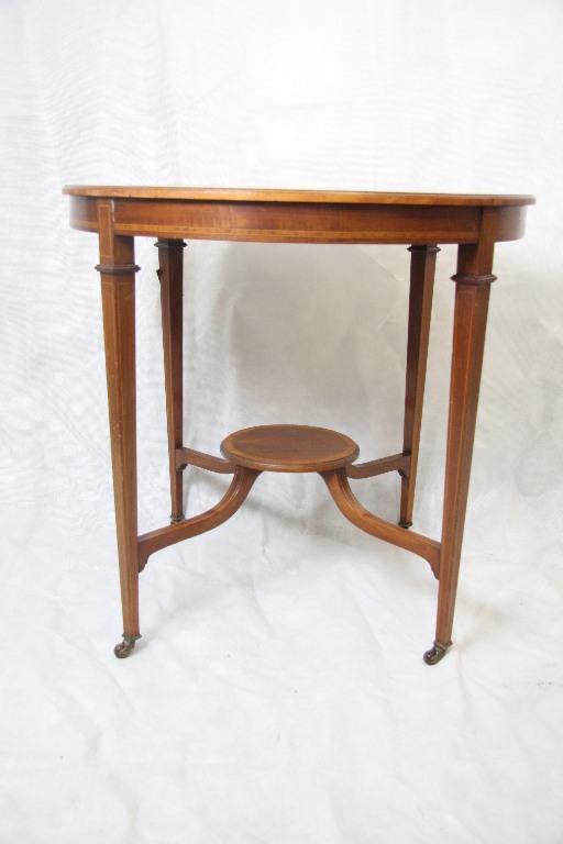 Mahagoni occationstisch runder tisch edwardian 1890 for Runder kleiner tisch