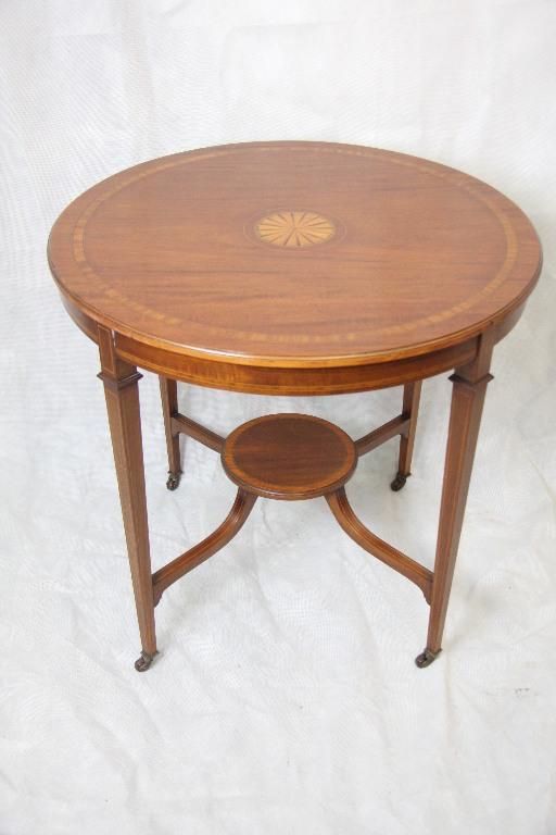 mahagoni occationstisch runder tisch edwardian 1890. Black Bedroom Furniture Sets. Home Design Ideas
