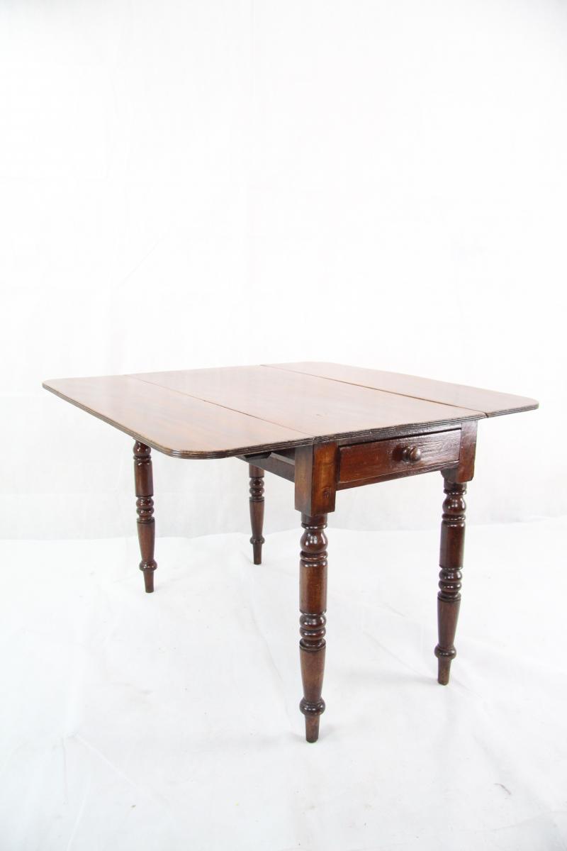 Mahagoni esstisch pembroke table original 1860 victorian for Esstisch tabea