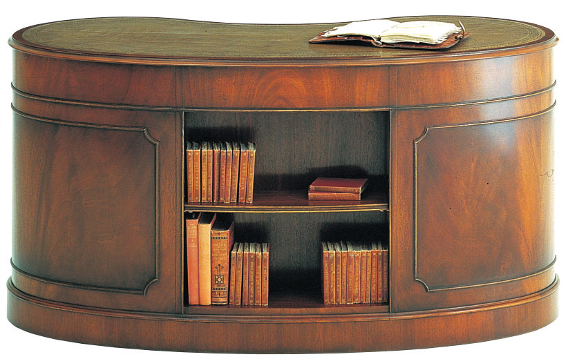 Bevan Funnell Nieren Schreibtisch In Mahagoni