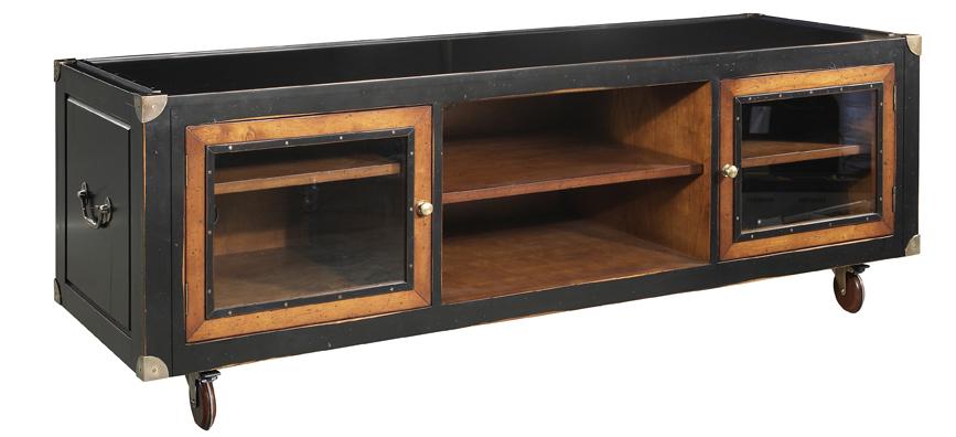 campaign tv sideboard. Black Bedroom Furniture Sets. Home Design Ideas