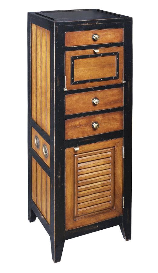 Cape Cod Wäscheschrank, Wäschetruhe Mit Schubladen Badezimmerschrank Aus  Holz, Holzkommode Antik Schwarz
