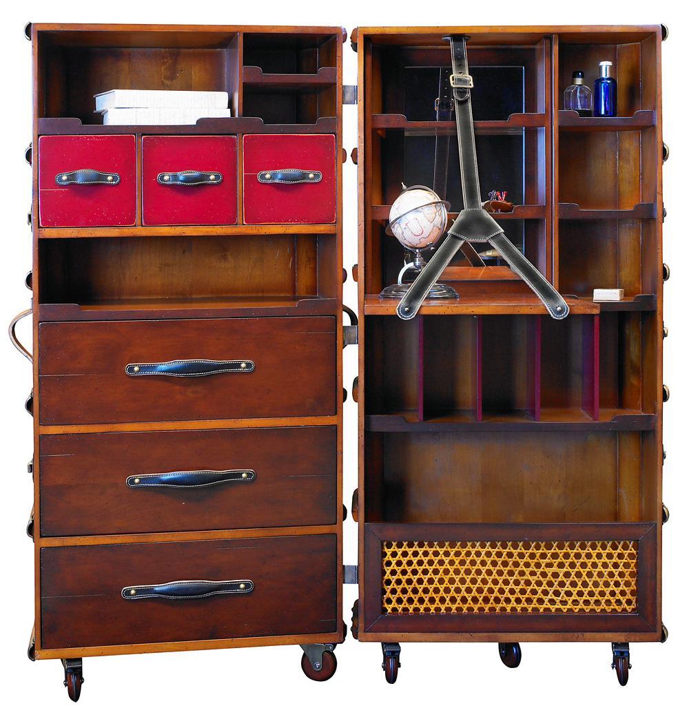 kabinen kleiderschrank schwarz. Black Bedroom Furniture Sets. Home Design Ideas