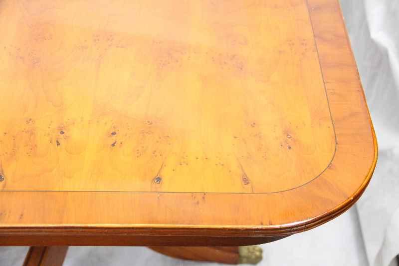 georgean bluntend table esstisch f r 12 personen. Black Bedroom Furniture Sets. Home Design Ideas
