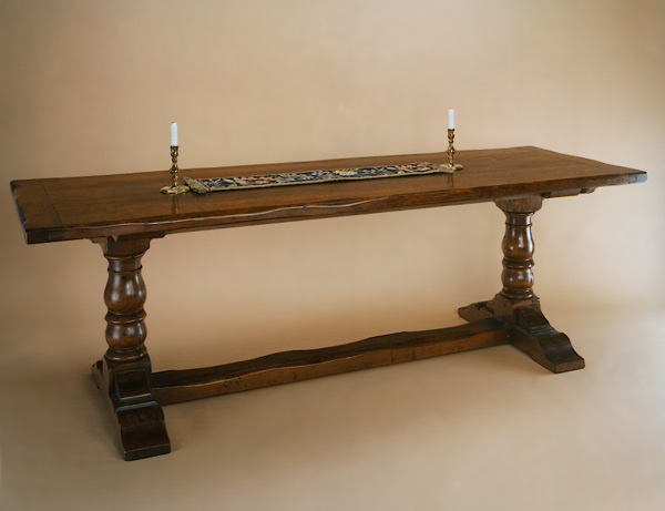 Dining Table  Baluster Leg