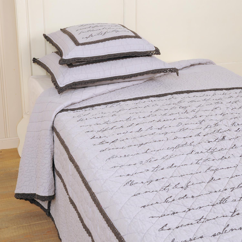 clayre eef tagesdecke berta 180x260. Black Bedroom Furniture Sets. Home Design Ideas