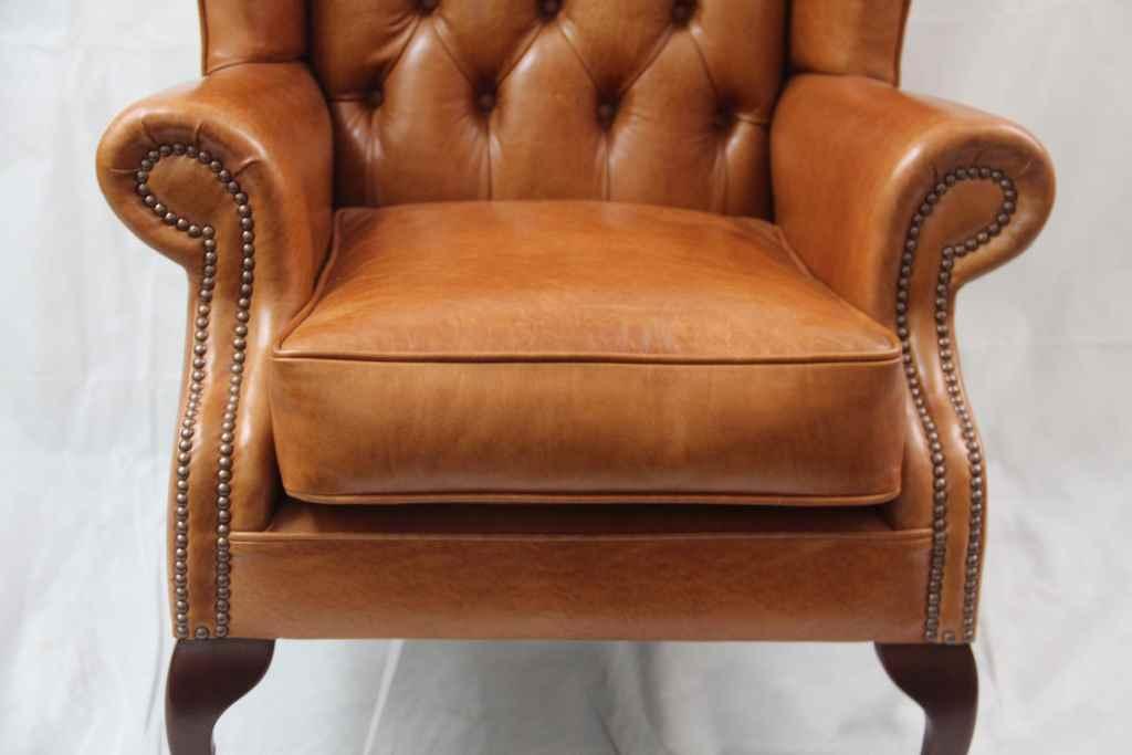 original englischer ledersessel lederm bel ohrensessel englische m bel lederpolsterm bel. Black Bedroom Furniture Sets. Home Design Ideas