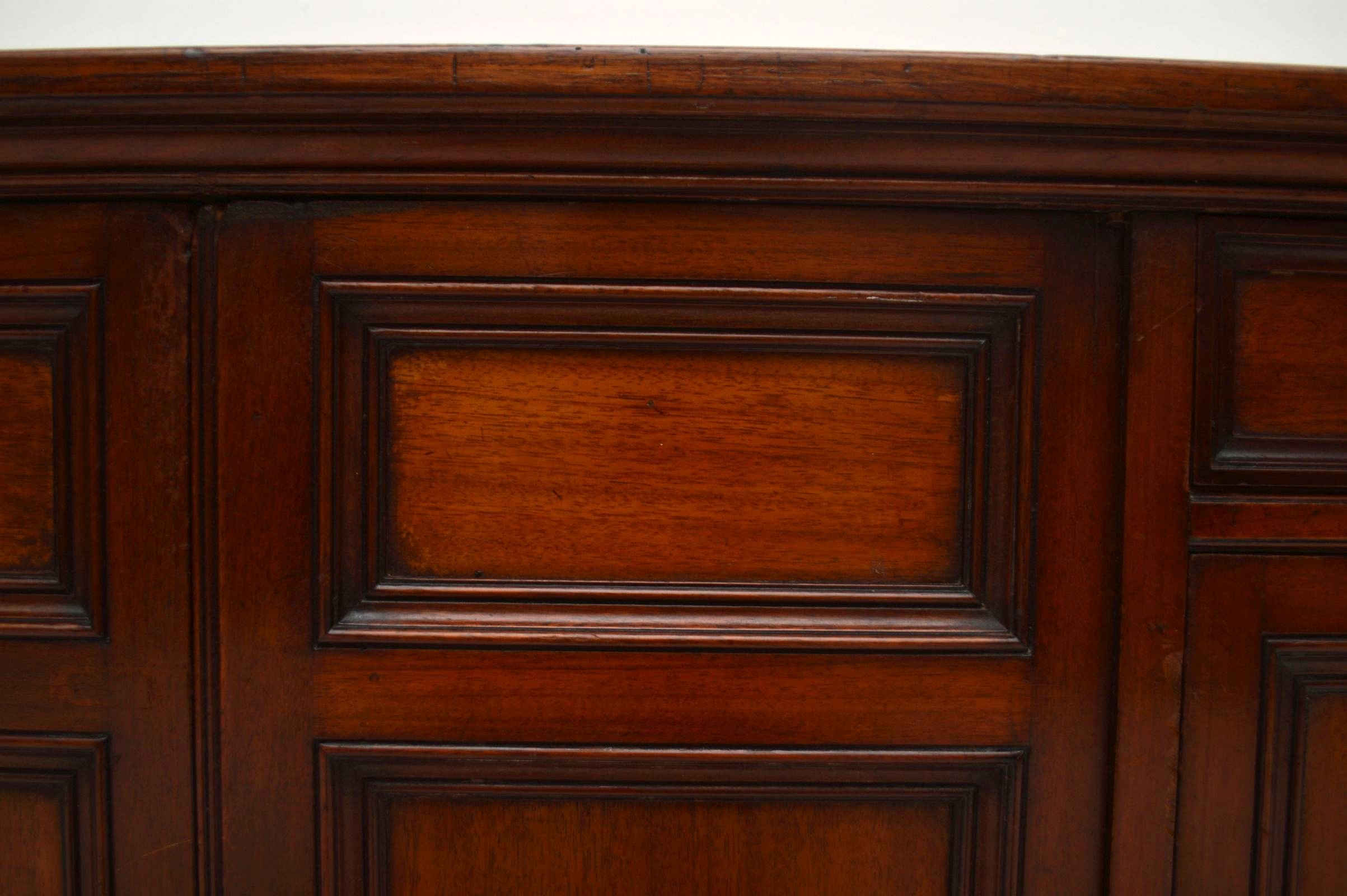 Antiker viktorianischer mahagoni schrank anrichte for Anrichte mahagoni