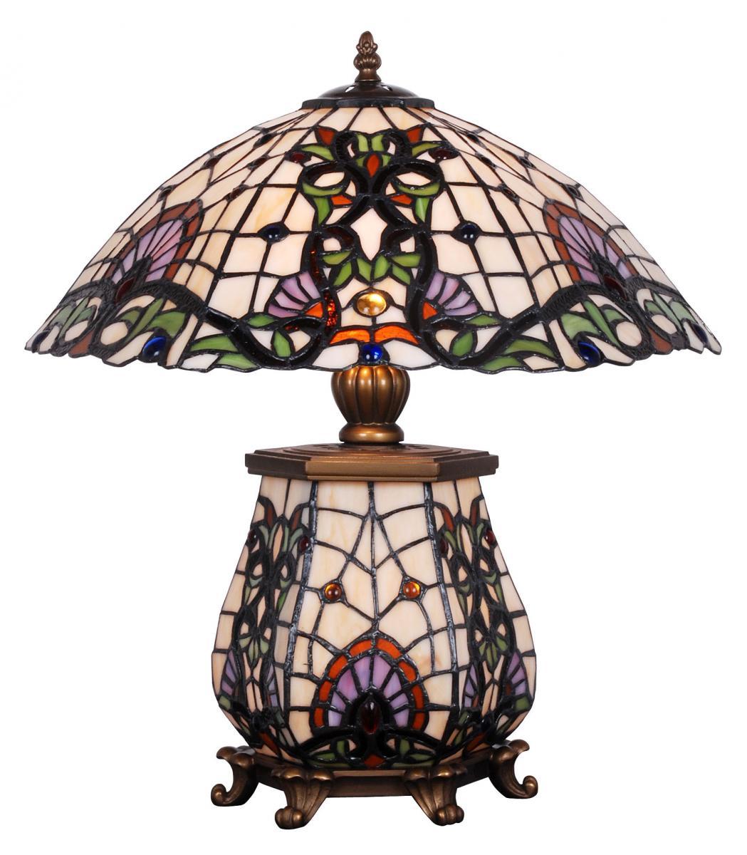 Schön Majestätische Diele Mit Tiffany Kronleuchtern Und Tiffany Stehlampen