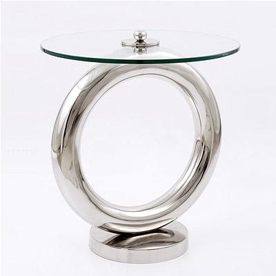 Beistelltisch Kleiner Tisch.Glastisch Colli Mit Edelstahl Kleiner Tisch Modern Wohnzimmertisch Beistelltisch