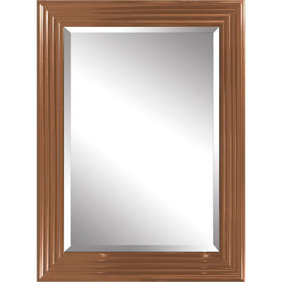 wandspiegel spiegel mit kupferrahmen flurspiegel 75x175 aus kupfer. Black Bedroom Furniture Sets. Home Design Ideas