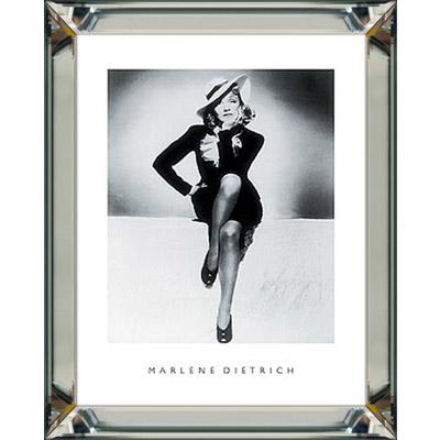 wanddeko wandbild foto schwarz weiß marlene dietrich 40x50 mit, Hause deko