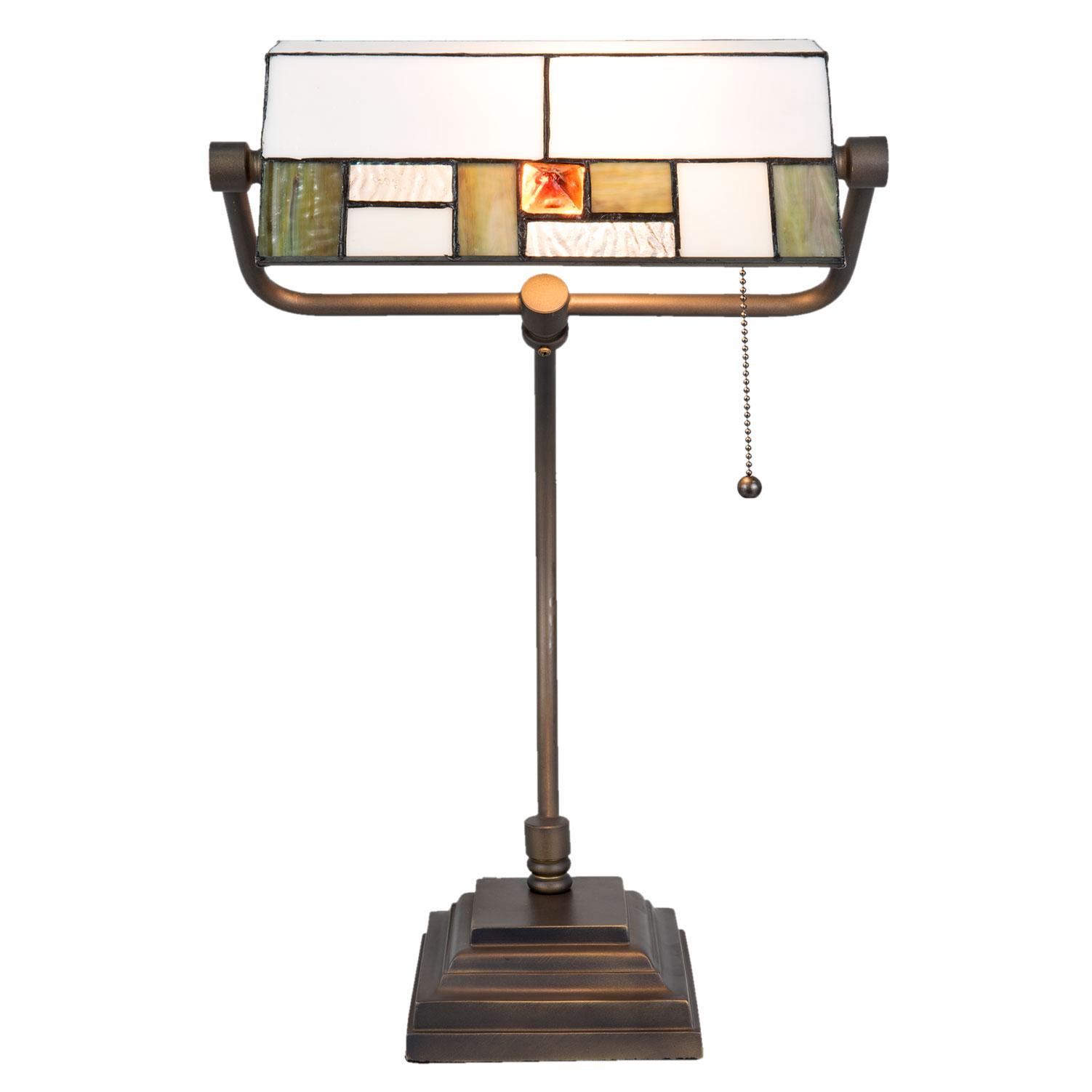 Tiffany Banker Leuchte Bankerslampe