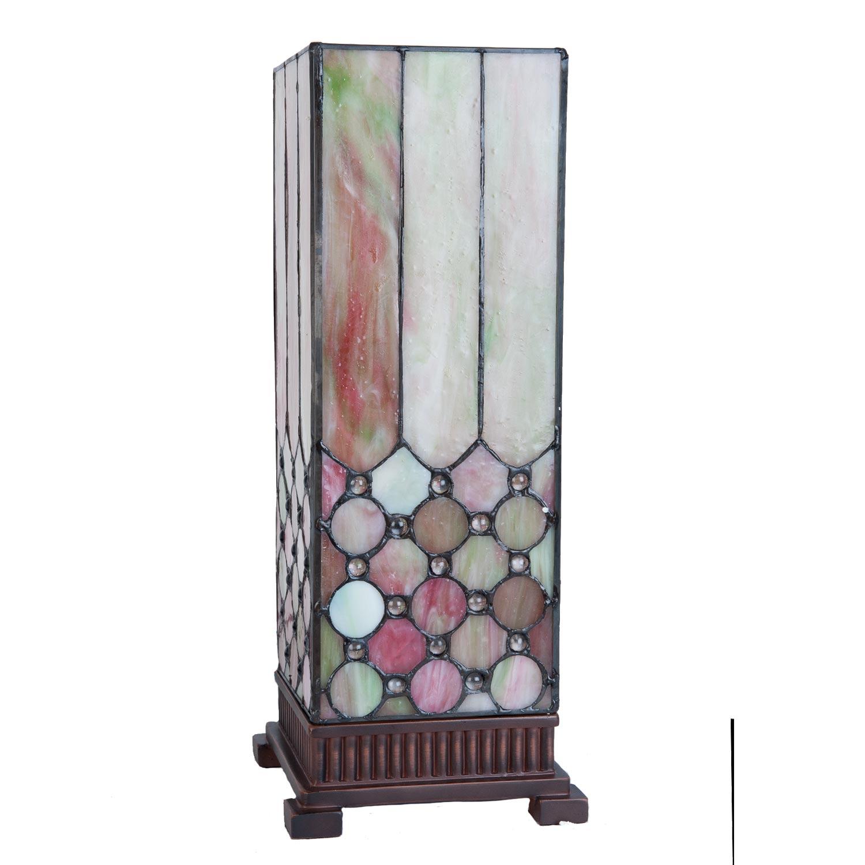 Clayre & Eef 5LL-5801 Stehlampe Lichtsäule Tiffany-Stil