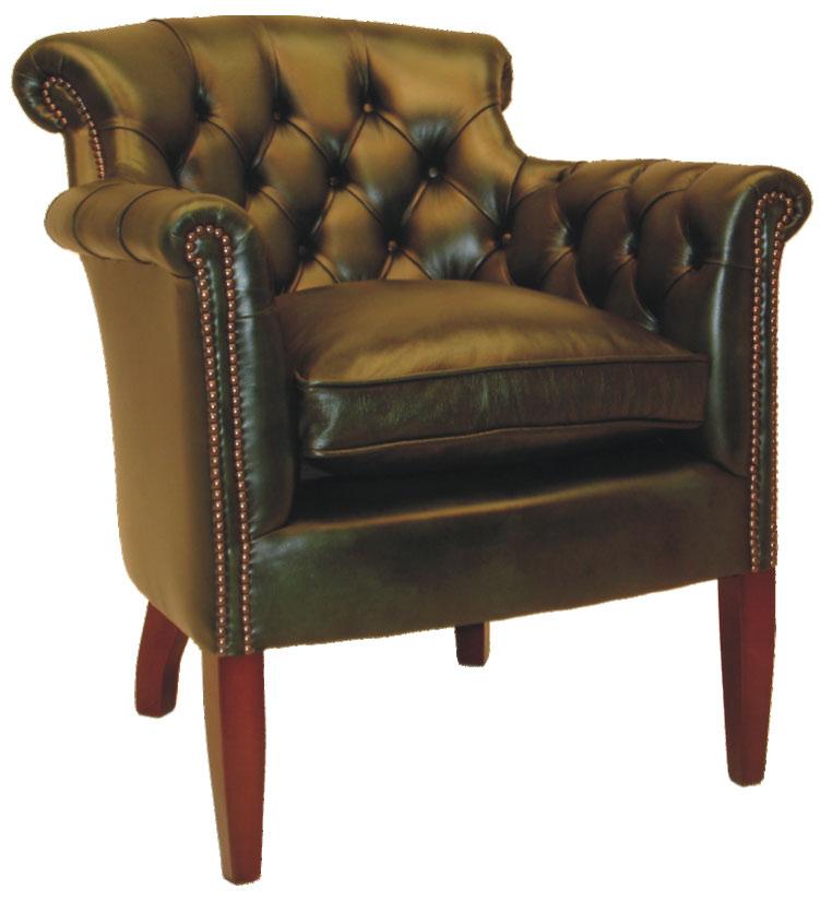 original englisches m bel aus massivholz und bezogen mit bestem anilinleder original. Black Bedroom Furniture Sets. Home Design Ideas