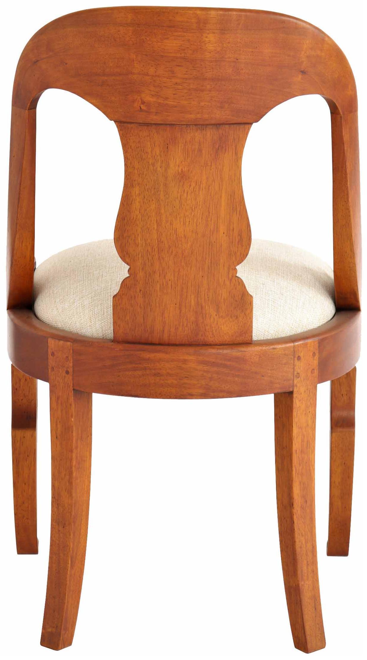"""Erstaunlich Stuhl Holz Sammlung Von \""""gondole\"""" Stoff"""