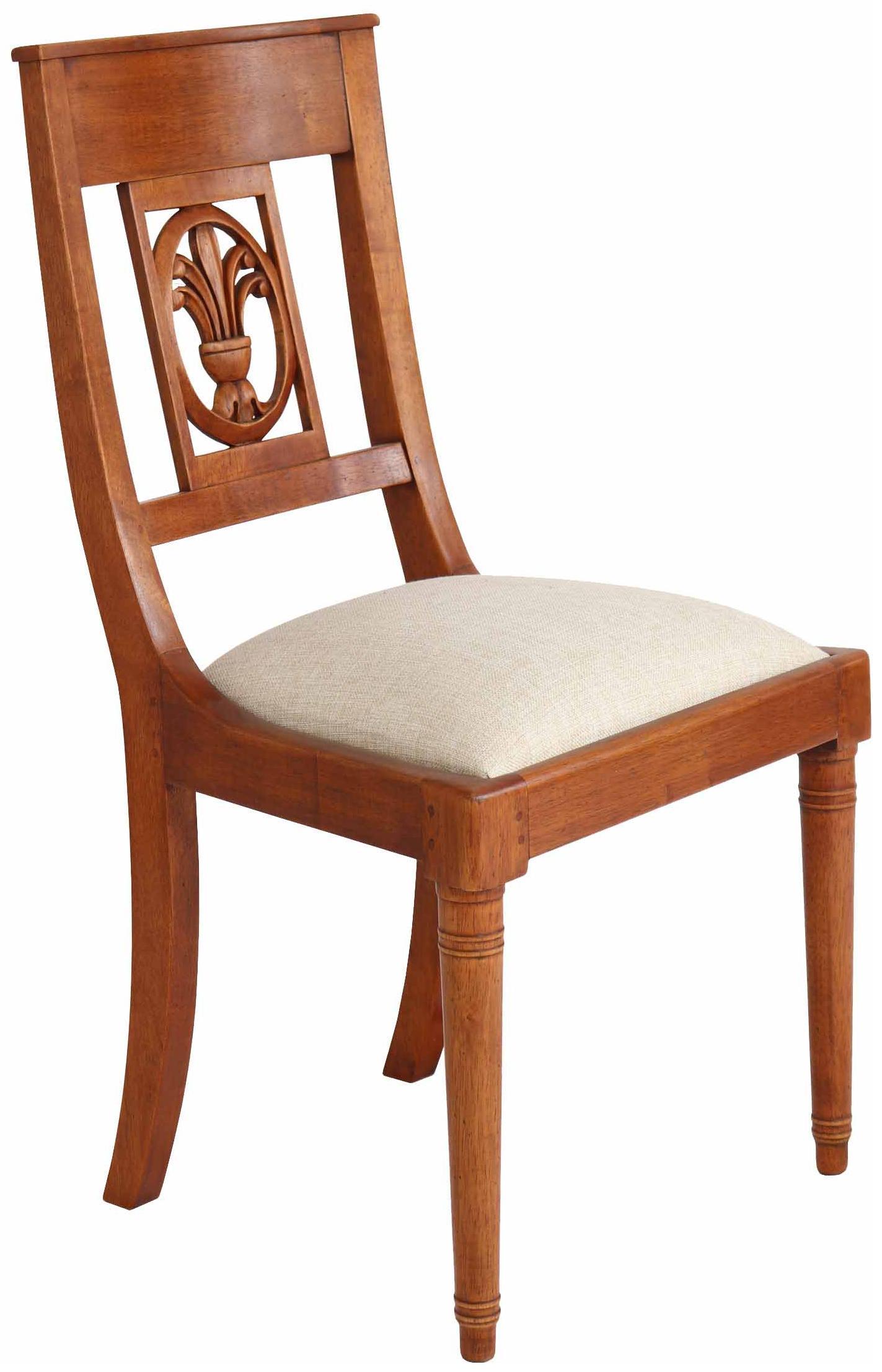 """Fabelhaft Stuhl Holz Sammlung Von \""""palmette\"""" Stoff"""