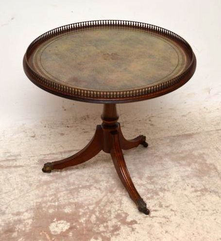 Antiker wine table beistelltisch for Messing beistelltisch katalog