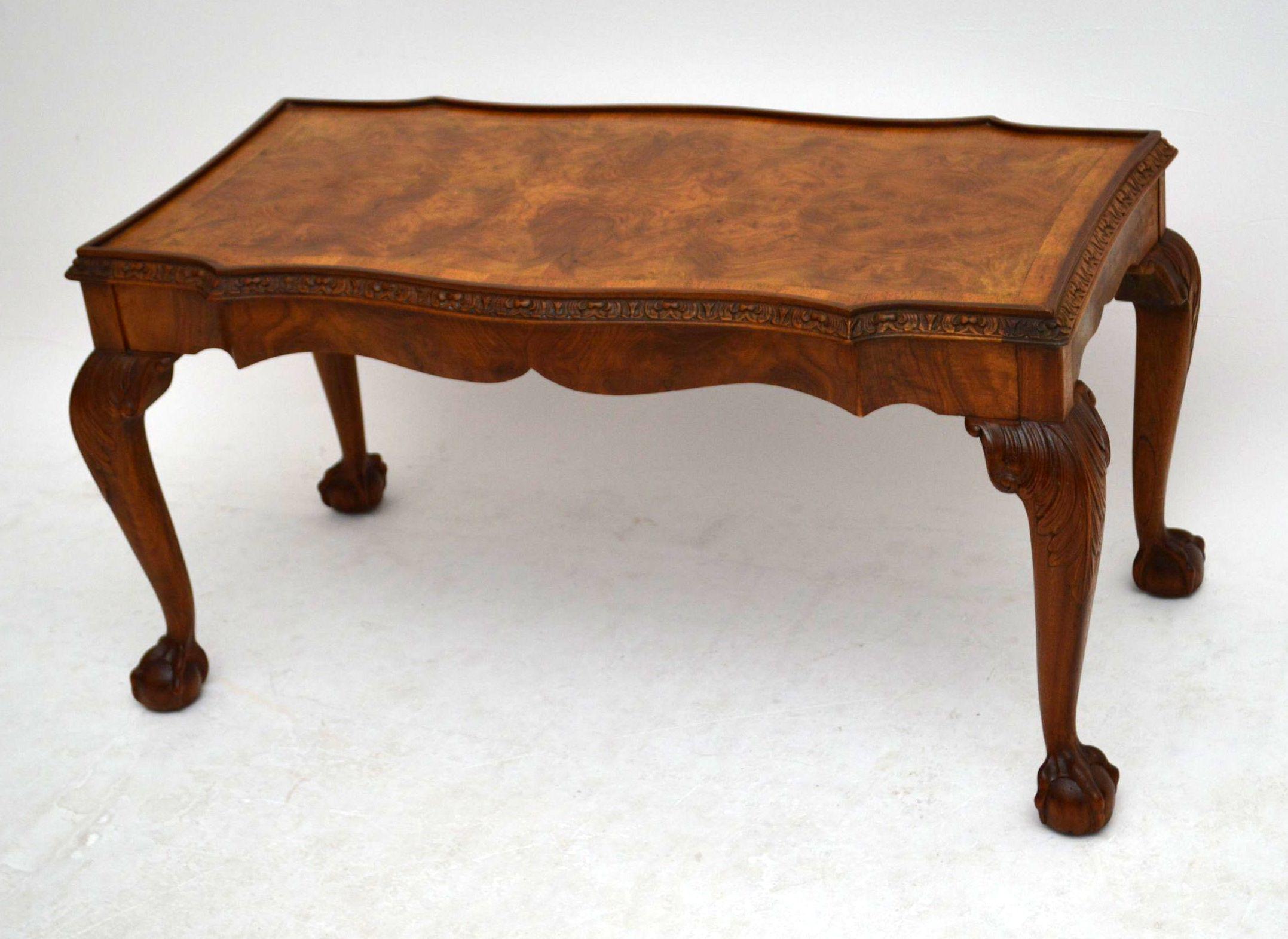 antiker kleiner sofatisch coffee table