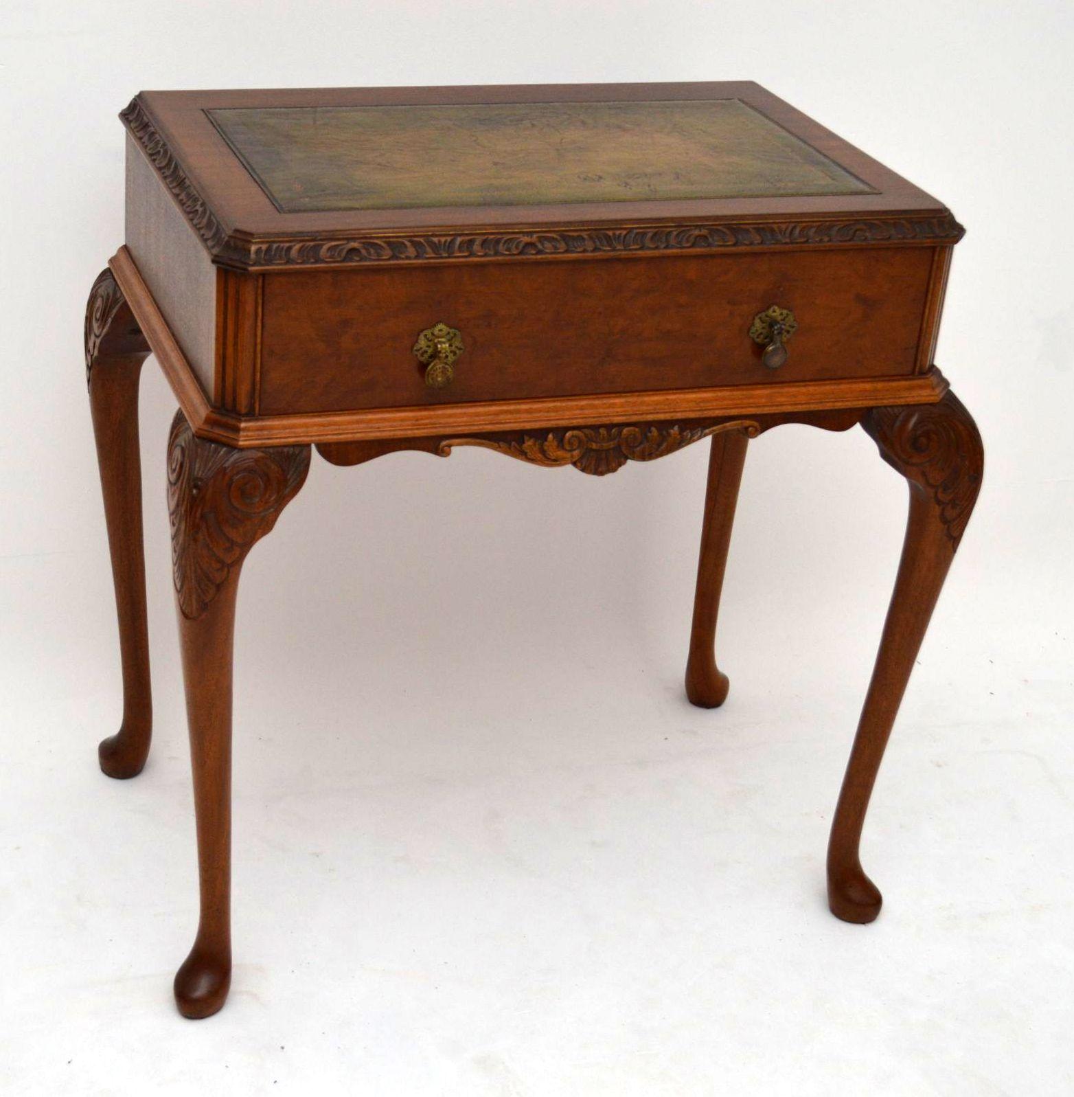 Kleiner Schreibtisch Antik Schreibtisch Antik Optik ...