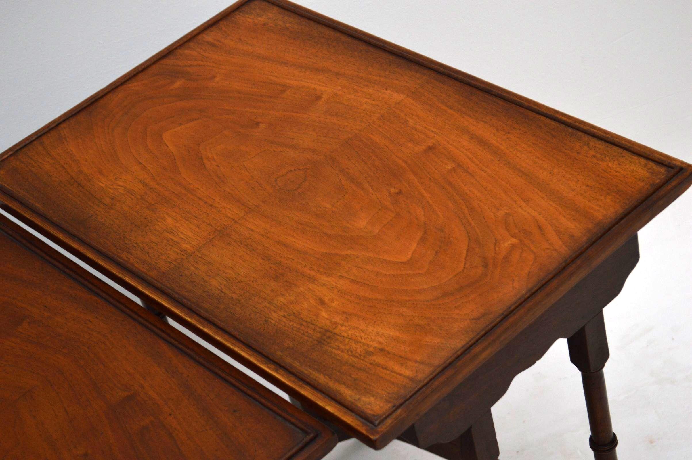 nest of tables antik beistelltische. Black Bedroom Furniture Sets. Home Design Ideas