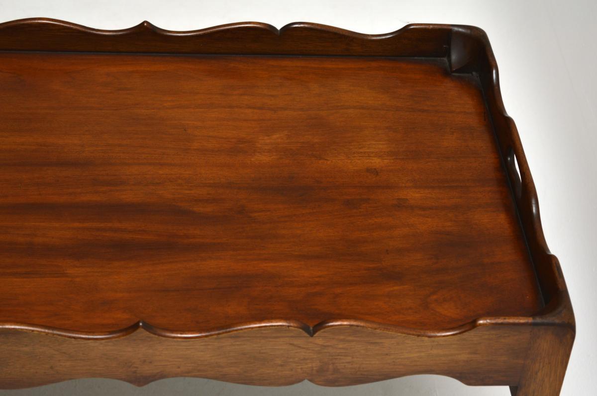 Mahagoni Couchtisch Sofatisch Coffee Table antik