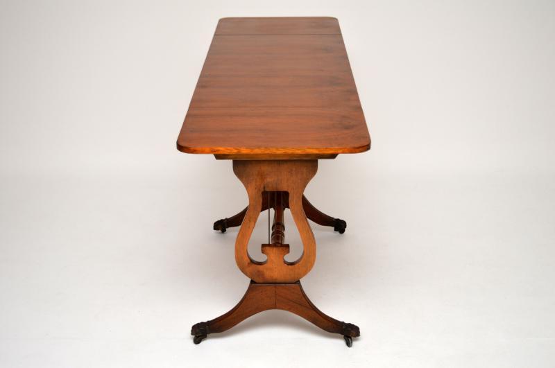 antiker regency stil eibenholz sofa tisch. Black Bedroom Furniture Sets. Home Design Ideas