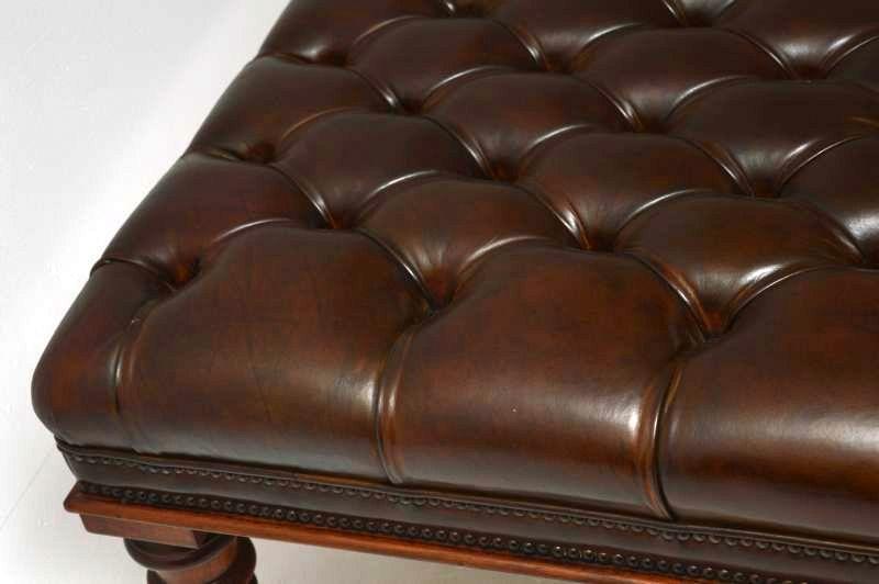 britisches lederpolsterm bel original englische antiquit t antike m bel chesterfield. Black Bedroom Furniture Sets. Home Design Ideas
