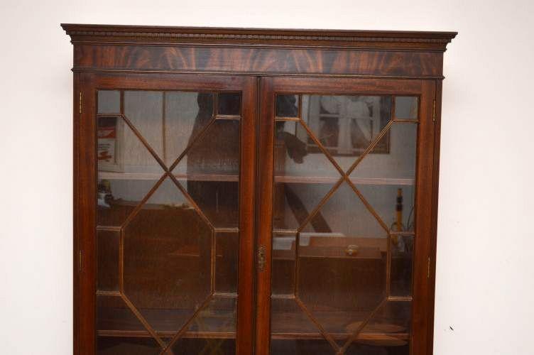 Bücherregal Mit Glastüren bücherregal antik mit glastüren