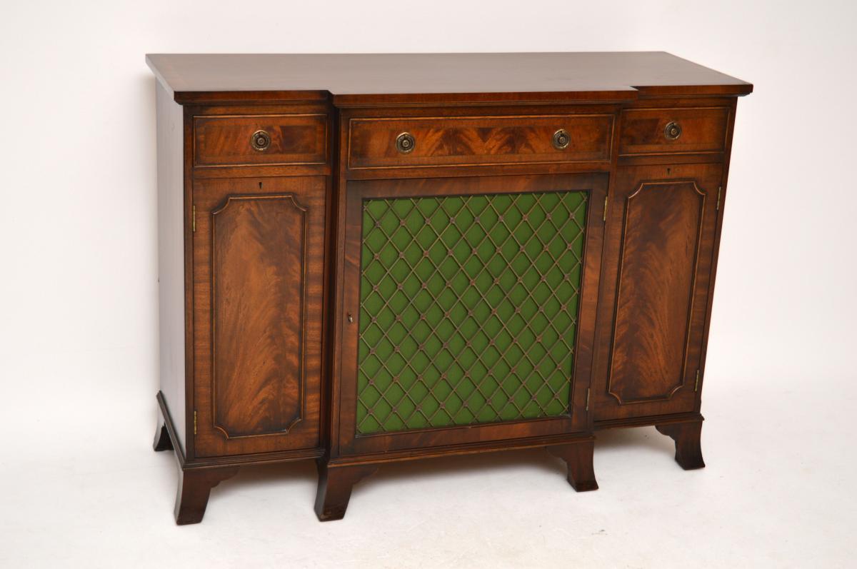 antike anrichte sideboard regency stil. Black Bedroom Furniture Sets. Home Design Ideas