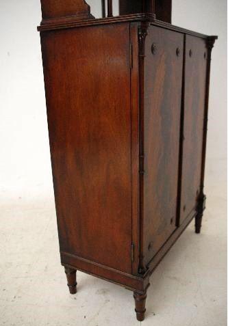 Schmale elegante antike regency style mahogany chiffonier for Schmale schlafsofas