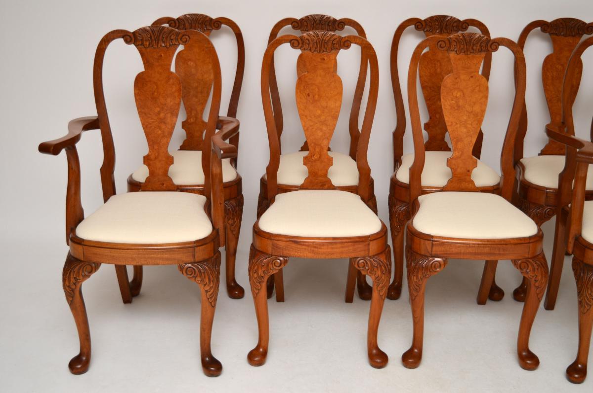 8set antike esszimmerst hle. Black Bedroom Furniture Sets. Home Design Ideas