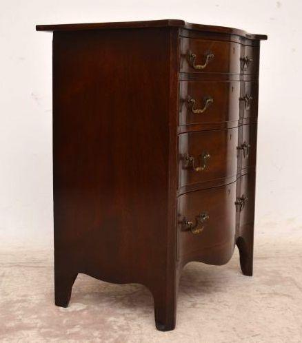 antike edwardian kommode 4 schubladen. Black Bedroom Furniture Sets. Home Design Ideas