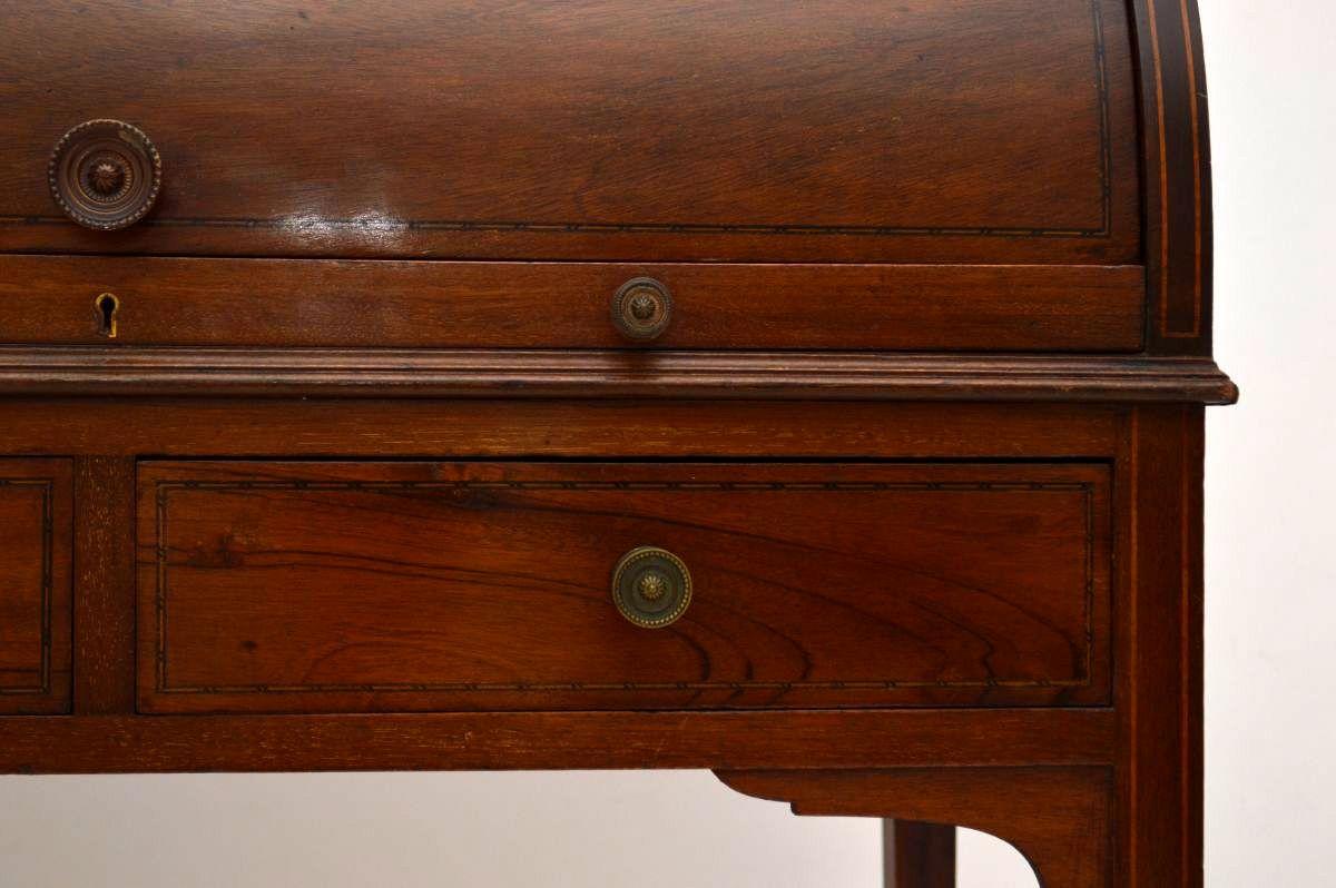 antiker viktorianischer bureau plat schreibtisch mahagoni b rotisch. Black Bedroom Furniture Sets. Home Design Ideas