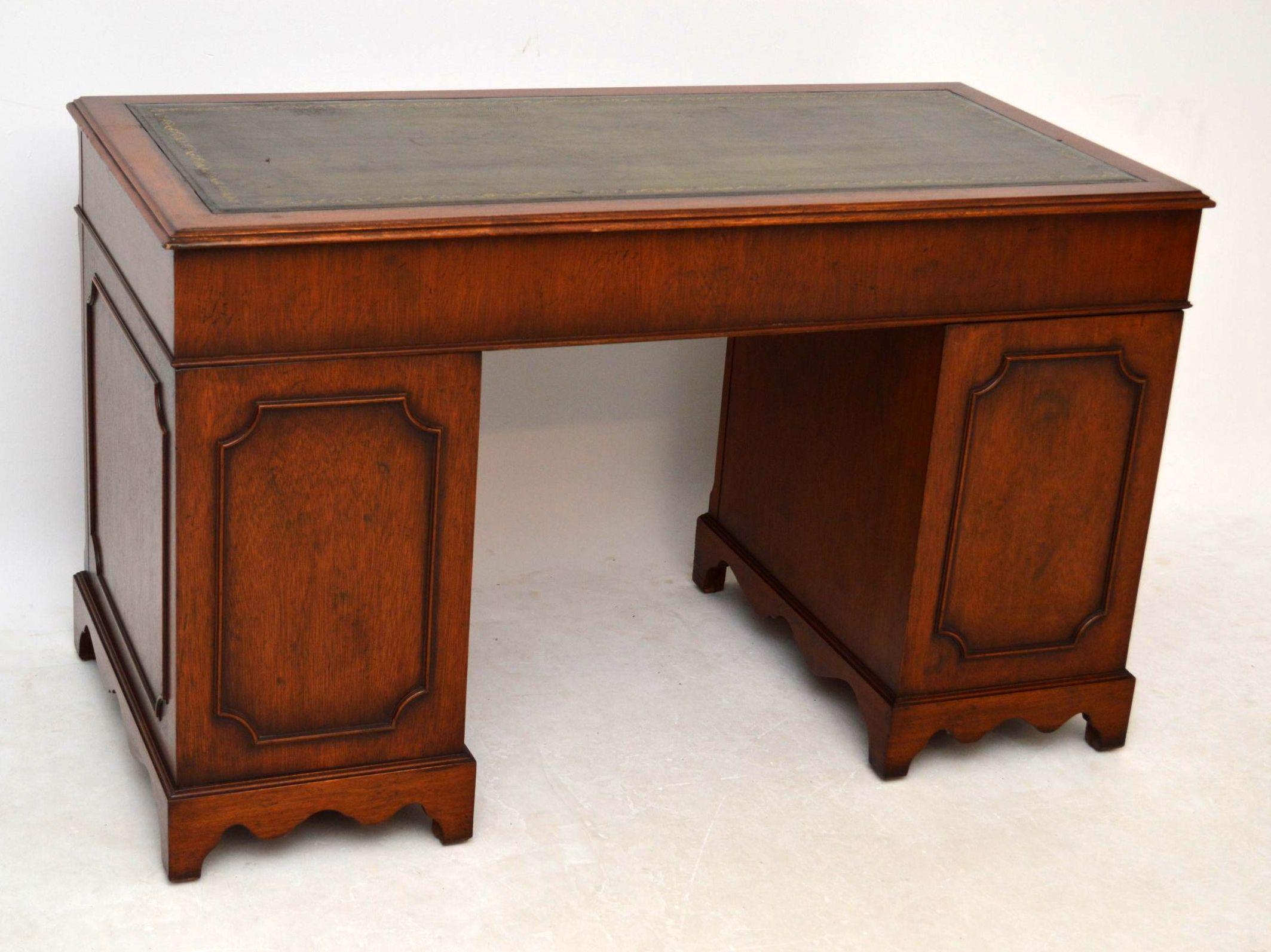 antiker georgian schreibtisch. Black Bedroom Furniture Sets. Home Design Ideas