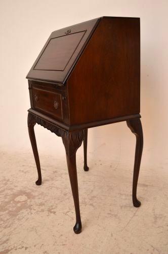kleiner mahagoni sekret r bureau. Black Bedroom Furniture Sets. Home Design Ideas
