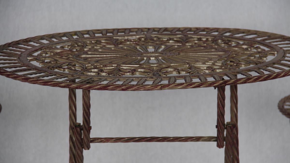 Garten Set Für Zwei Mit Tisch Und 2 Stühlen