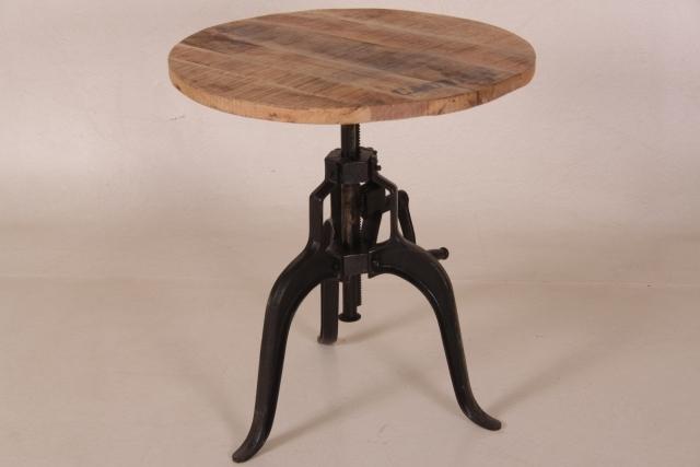beistelltisch industrial gro. Black Bedroom Furniture Sets. Home Design Ideas