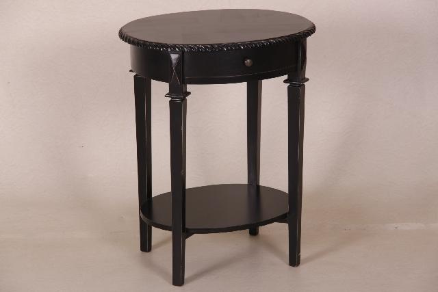 moderner beistelltisch dunkles holz. Black Bedroom Furniture Sets. Home Design Ideas