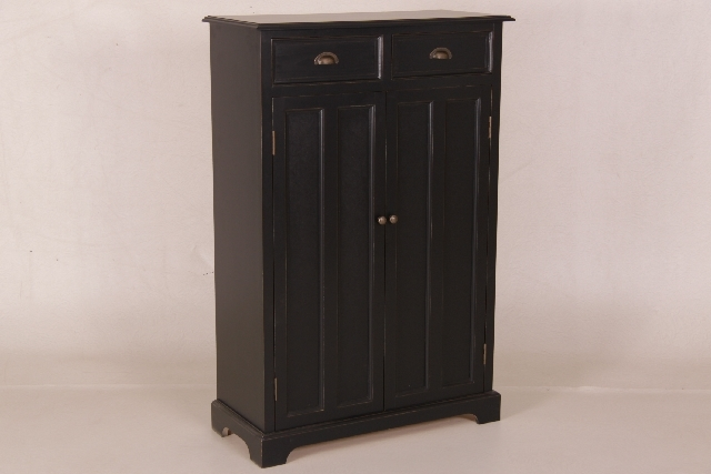 kleiderschrank mit 2 t ren und 2 schubladen. Black Bedroom Furniture Sets. Home Design Ideas